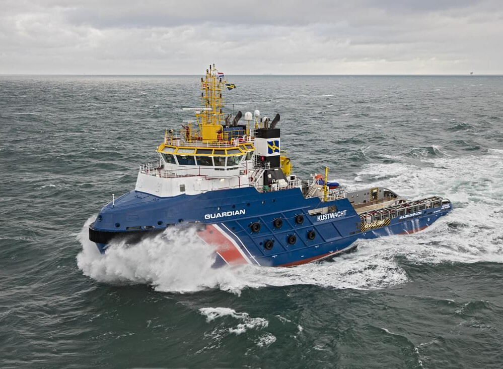 Salvage Emergency Towing Vessel GUARDIAN Source: Flying Focus
