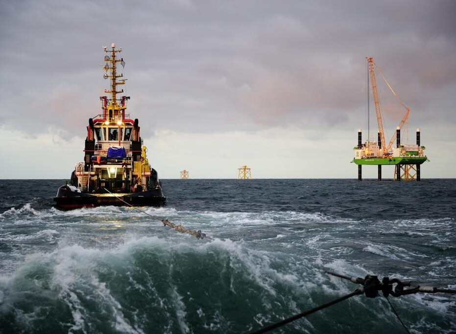 Sea Towage Source: Alpha Ventus